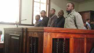 Five policemen Marubini Aubrey Raphebele, Thulane Philemon Bopela, Petrose Mosiuoa, Samuel Motaung, and Timothy Piet Mohlalawere, who were arrested in connection with the counterfeit raids in the city, were released on warning on Monday. Photo: ANA