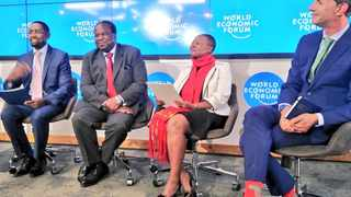 The trade war between the United States and China is not helping the global economy and will be in focus during this week's World Economic Forum on Africa, South Africa's finance minister Tito Mboweni said on Monday. PHOTO: National Treasury via Twitter