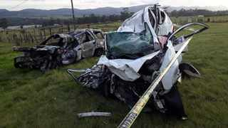 Eastern Cape police are investigating a case of culpable homicide after five people were killed in an accident on the N2 near Thornhill just outside Port Elizabeth. Picture: Supplied