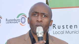 Rustenburg mayor Mpho Khunou says the municipality supports the initiative of long distance taxi associations of froming a transport company and a cooperative bank. Khunou commits that land will be avail for the taxi industry. Photo: ANA