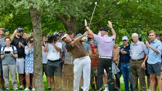 South Africa's Louis Oosthuizen in action during the third round of the SA Open at Randpark on Saturday. Photo: Michael Sherman/ANA