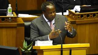 Minister of Finance Tito Mboweni delivers his budget speech to Parliamant on February 26, 2020. PHOTO: Phando Jikelo/African News Agency (ANA)