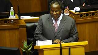 Finance minister Tito Mboweni delivers his budget speech in parliament. File photo: Phando Jikelo/African News Agency (ANA)