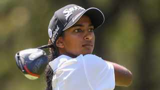Eighteen-year-old Kaiyuree  Moodley on a steep learning curve after finishing top amateur in SA Women's Open. Photo: Sunshine Ladies Tour