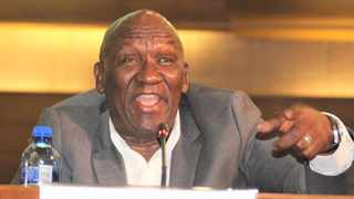 Police Minister Bheki Cele addresses media in Pretoria. The minister says that social distancing to curb the spread of the Coronavirus disease in the country does not mean that the police will stop arresting anyone doing crime. Picture: Jonisayi Maromo/African News Agency (ANA)