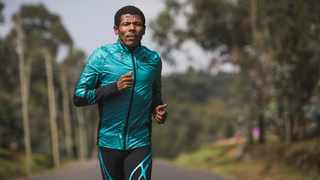 Ethiopian running legend Haile Gebrselassie made the donation to the Covid-19 National Resource Mobilisation Committee. Photo: twitter.com/HaileGebr