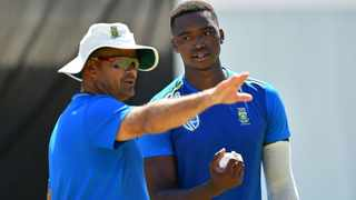 Charl Langeveldt (left) believes Cricket South Africa can be proud of the players which progressed through the domestic structures. Photo: twitter.com/AmiconeDigital