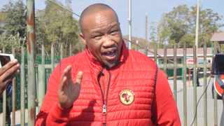 National Union of Metalworkers of South Africa (Numsa) general secretary Irvin Jim says workers are experiencing hardship under the Covid-19 lockdown. File photo: ANA