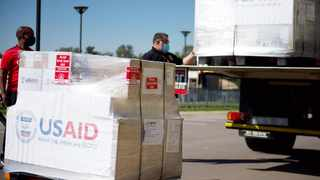 USAID has donated up to 1 000 ventilators and accompanying equipment to South Africa. Picture: Twitter/ @USEmbassySA