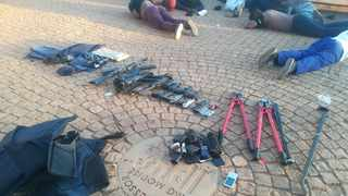 At least five people were killed at the weekend and more than 40 others arrested at the International Pentecost Holiness Church in Zuurbekom, west of Johannesburg, in the early hours on Saturday. Picture: Supplied / SAPS