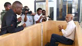Kessie Nair, the man accused of calling President Cyril Ramaphosa the k-word in a video clip, applied for bail when he appeared in the Verulam Magistrate's Court on Wednesday. Nair was arrested last Wednesday and faces charges of crimen injuria and incitement of public violence. Picture Leon Lestrade. African News Agency. ( ANA ).