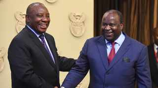 President Cyril Ramaphosa appointed Tito Mboweni as the new Finance Minister of South Africa earlier this week. PHOTO: Phando Jikelo/African News Agency (ANA)