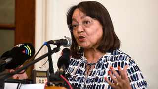 Mayor Patricia de Lille said she was the only glue that currently kept the DA together. Picture:   Phando Jikelo/African News Agency(ANA)