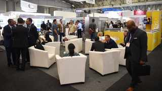 Cape Town-181113 AfricaCom is seen as the largest networking platform focusing on infrastructure, disruptive technologies, digital services or ICT strategy.14,000 attendees are expected at the 21st anniversary of the event.The 2019 AfricaCom Awards will be returning with old favourites as well as the addition of several new award categories. PHOTOGRAPH :Phando Jikelo/African News Agency(ANA)