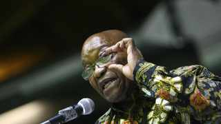 Former president Jacob Zuma speaks at Nelson Mandela memorial lecture at King Cetshwayo hall  at University of Zululand in Mpangeni. Picture ;Bongani Mbatha African News Agency (ANA)