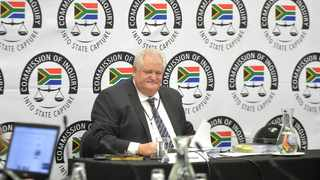 SOUTH AFRICA: Johannesburg: Former chief operations officer of Bosasa  Angelo Agrzzi took the stand and testified in the state capture commission of inquiry in Parktown, Gauteng.Picture: Itumeleng English/ African News Agency(ANA)16.01.2019