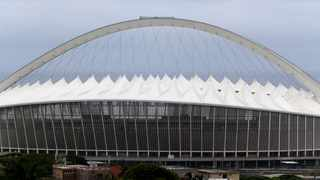 Durban. 160119. The Moses Mabhida Stadium located in Durban, South Africa, named after Moses Mabhida Picture Leon Lestrade. African News Agency. ( ANA ).