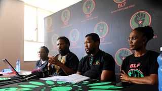 The BLF made an application to the IEC to register as a political party on May 20, 2016. Picture: Bhekikhaya Mabaso/African News Agency(ANA)