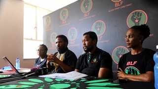 "Solidarity said that BLF had missed a ""golden opportunity"" to apologise for racist remarks it made about Hoërskool Driehoek tragedy. Picture: Bhekikhaya Mabaso/African News Agency(ANA)"