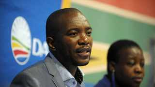 Mmusi Maimane led a DA press conference in Cape Town. Picture: Armand Hough/African News Agency(ANA)