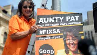 GOOD party leader Patricia de Lille Picture: Ayanda Ndamane/African News Agency (ANA)