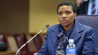 Suspended NPA official Advocate Nomgcobo Jiba, gives evidence before the Mokgoro Commission of Inquiry into her fitness to hold office. Picture: Oupa Mokoena/African News Agency (ANA)