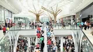 Shoppers were evacuated from the Mall of Africa, one of South Africa's largest shopping complexes, as police searched for a bomb after receiving a threat,