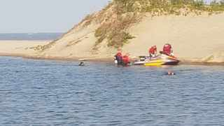 An eight-year-old child drowned after getting into difficulty while swimming in the lagoon at the Wild Coast casino on Saturday afternoon. Picture: NSRI