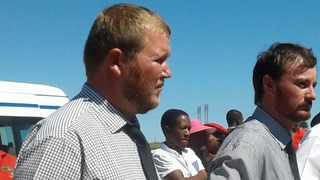 Murder accused Phillip Schutte, left, and Pieter Doorewaard during a previous court appearance. File picture: ANA