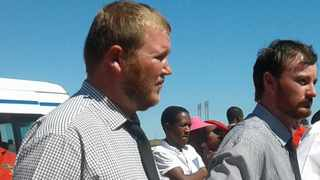 Murder accused Phillip Schutte (left) and Pieter Doorewaard during a previous court appearance. Picture: African News Agency (ANA) Archives