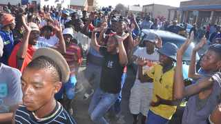 Service delivery protests flared up in Ventersdorp. File picture: ANA
