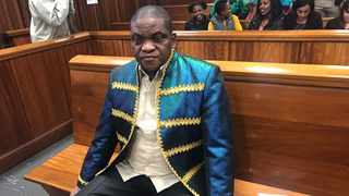 Timothy Omotoso is seen at the Port Elizabeth High Court on Wednesday. Photo: Raahil Sain / ANA