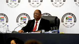 Deputy Chief Justice Raymond Zondo who chairs the commission of inquiry into state capture. File picture: African News Agency (ANA)