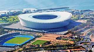 """The Cape Town Stadium surface has been declared """"unplayable for football"""". Photo: ANA (file)"""