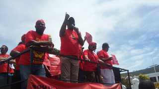 Durban will on Wednesday be a hive of labour federation's activities when the country's two competing federations host their May Day rallies. Picture: Songezo Ndlendle/ANA
