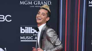 Frankie Grande arrives at the Billboard Music Awards at the MGM Grand Garden Arena on Sunday, May 20, 2018, in Las Vegas. (Photo by Jordan Strauss/Invision/AP)