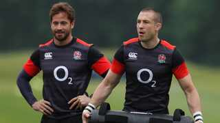 Danny Cipriani (left) will give England more kicking options at what is expected to be a rain-drenched Newlands. Photo: Reuters/Andrew Couldridge