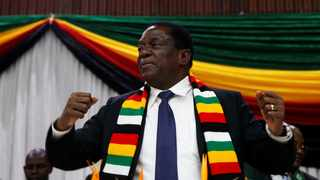 Zimbabwe President Emmerson Mnangagwa announces the date for the general elections in Harare. File picture: Philimon Bulawayo/Reuters