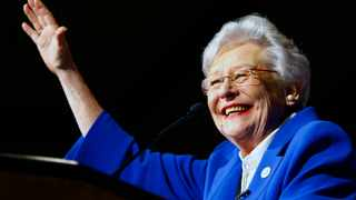 Alabama Governor Kay Ivey. Picture: AP Photo/Butch Dill