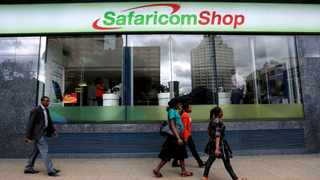 Safaricom unveiled a new service on its M-Pesa mobile financial platform that will allow users to send money around the world with Western Union. File Image: IOL