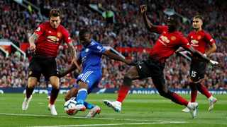 Victor Lindelof (left) and Eric Bailley (right) are what Jose Mourinho has to work with in his starting defence. Photo: Andrew Boyers/Reuters