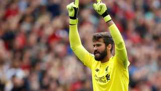 New goalkeeper Alisson Becker was assured in goal for Liverpool against West Ham. Photo: Carl Recine/Action Images via Reuters