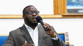 This 2017, photo provided by Harding University in Search, Arkansas, shows Botham Jean leading worship at a university presidential reception in Dallas.PIcture: Jeff Montgomery/Harding University via AP
