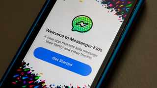 Facebook has rolled out Messenger Kids, a video chat and messaging app that aims to help children connect with friends and family in a fun but parent-controlled space.  Picture: AP Photo/Richard Drew