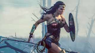 """This image released by Warner Bros. Entertainment shows Gal Gadot in a scene from """"Wonder Woman."""" Picture: Clay Enos/Warner Bros. Entertainment via AP"""