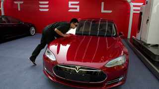 Tesla Inc said on Friday it plans to start delivering Model 3 cars to customers in China in March. Photo: (AP Photo/Ng Han Guan, File)