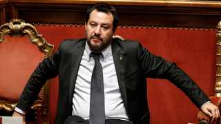 """To have the Italian Supercoppa being played in an Islamic country where women cannot go to the stadium unless they are accompanied by a man is sad,"" said Italy deputy prime minister Matteo Salvini, a passionate AC Milan fan. Photo: Riccardo Antimiani/ANSA via AP"