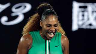 """""""So I knew 'Serena, you've got to come out hot, you've got to come out firing',"""" said Serena Williams about her clash with Eugenie Bouchard. Photo: Aaron Favila/AP"""