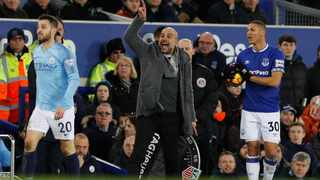 """""""It really is a final for us this weekend. If we are able to take these points, it is a huge step forward,"""" says Pep Guardiola about the clash between Manchester City and Chelsea on Sunday. Photo: Phil Noble/Reuters"""