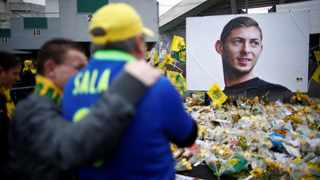 Emiliano Sala died along with pilot David Ibbotson when the Piper Malibu aircraft they were travelling in came down in the English Channel on January 21. Photo: Stephane Mahe/Reuters